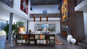 Mieszkanie w stylu afrykańskim